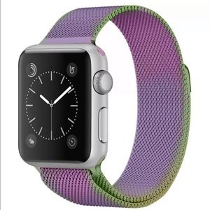 Apple Watch Band Replacement Colorful/Lilac NWT 44